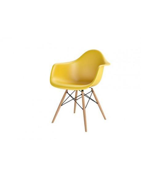 Krzesło Creatio żółte