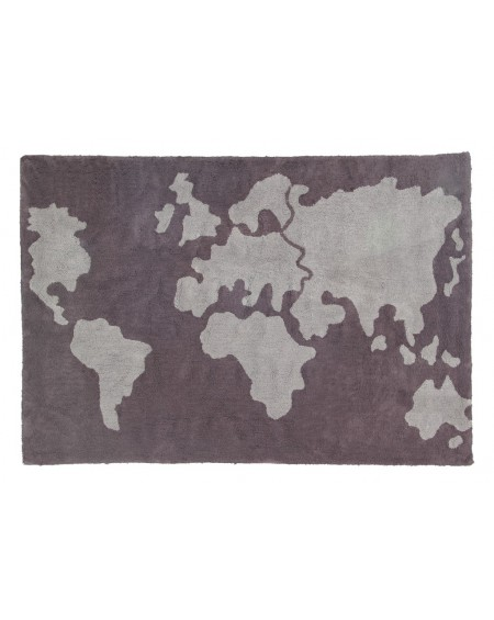 Dywan bawełniany Mapa
