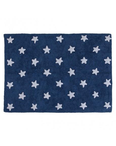 Dywan bawłniany Stars marine