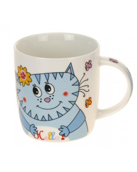 Kubek porcelanowy Kot