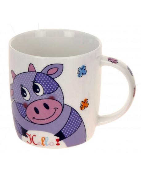 Kubek porcelanowy Krowa