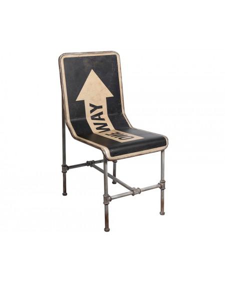 Krzesło metalowe ONE WAY