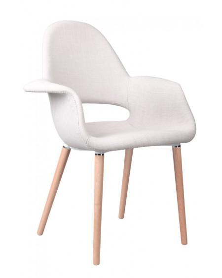 Krzesło Organic jasnoszare