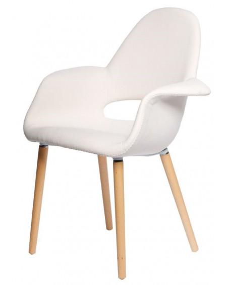 Krzesło Organic kremowe