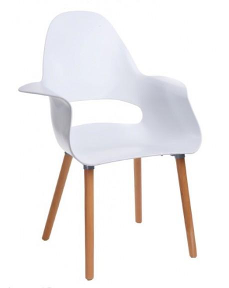 Krzesło Organic white