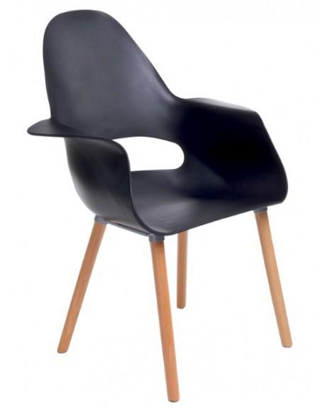 Krzesło Organic black