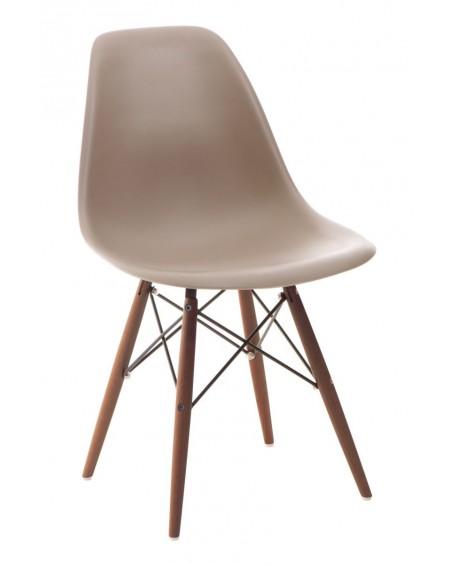 Krzesło Comet caffee latte/dark