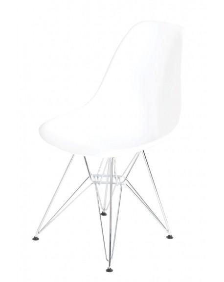 Krzesło Comet chrome white