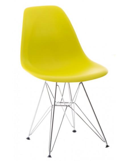Krzesło Comet chrome dark olive