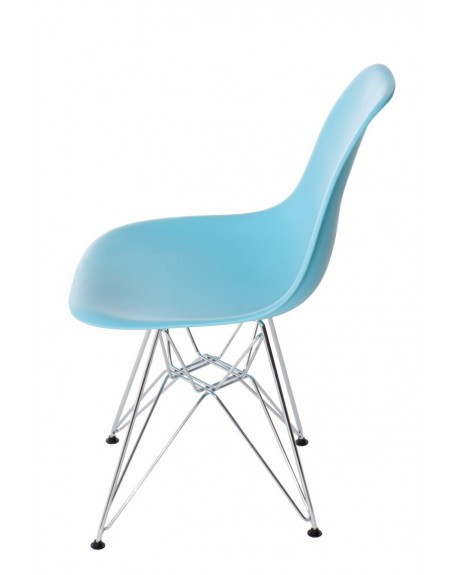 Krzesło Comet chrome ocean blue