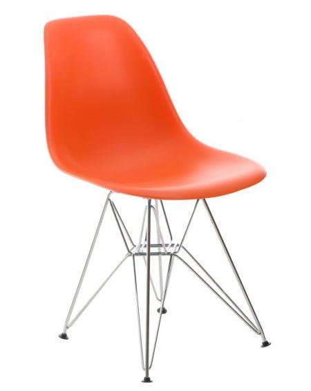 Krzesło Comet chrome orange