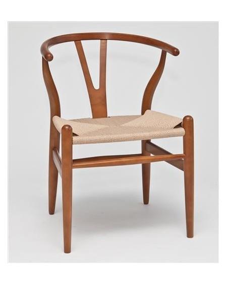 Krzesło Wood jasnobrązowe