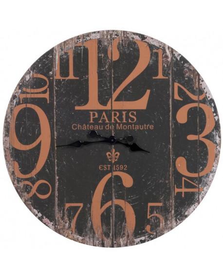 Zegar drewniany Paris 1592 brązowy