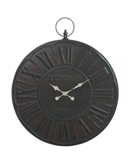 Zegar metalowy London 1879