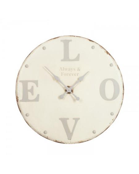 Zegar metalowy LOVE