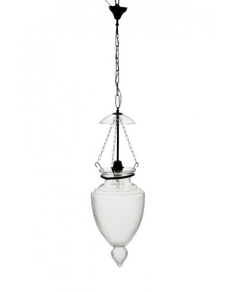 Lampa wisząca szklana mniejsza