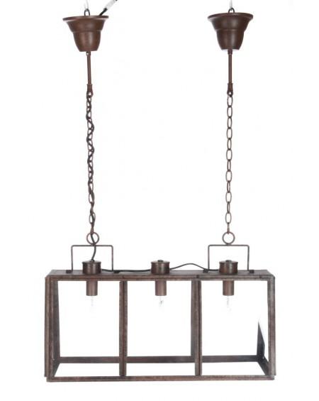 Lampa wisząca potrójna Rectangle