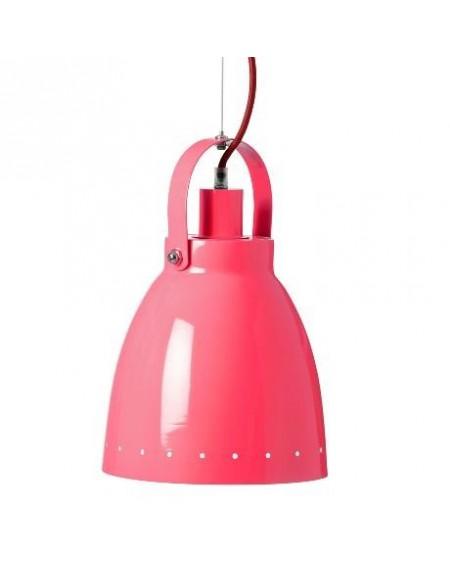 Lampa wisząca czerwona