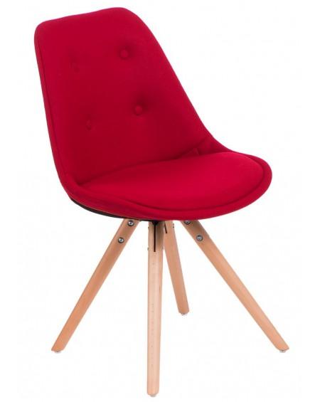Krzesło Nord Star pikowane czerwone