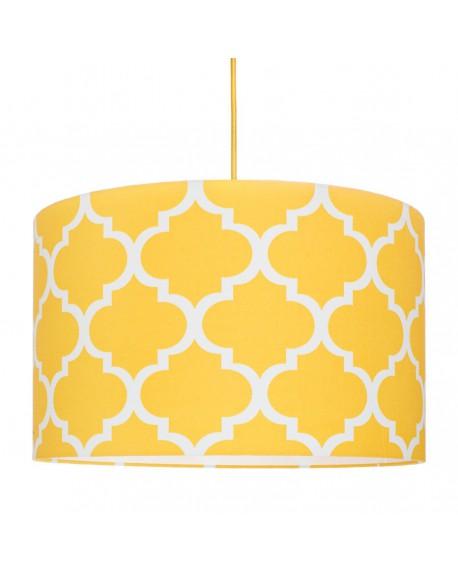Lampa wisząca Moroccan żółta