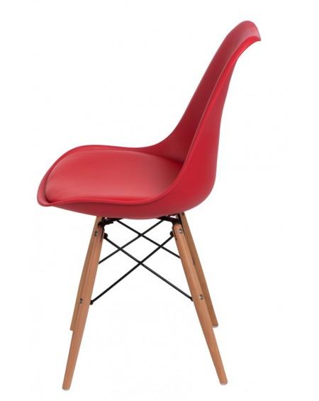 Krzesło Nord czerwone