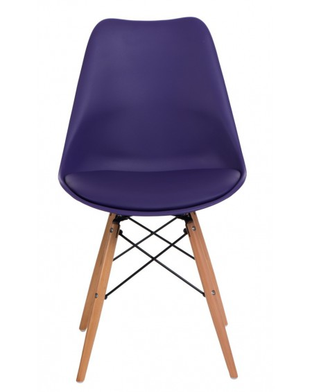 Krzesło Nord fioletowe
