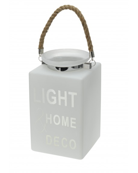 Lampion szklany LIGHT HOME DECO