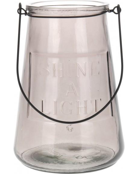 Lampion szklany SHINE