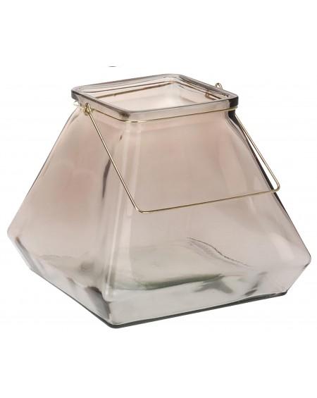 Lampion Glass szary