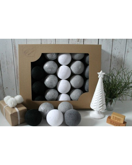 Cotton Balls Silver Winter 20 szt.