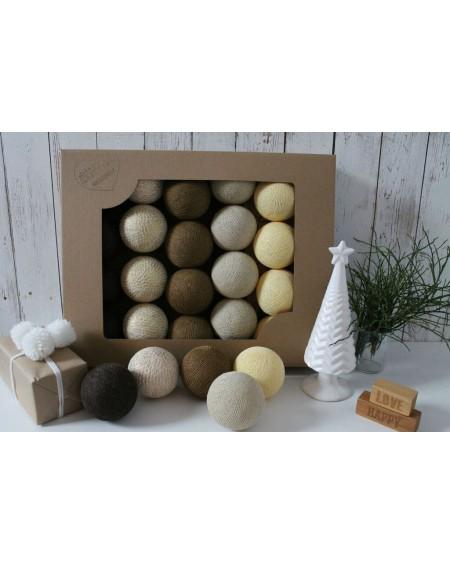 Cotton Balls X-MAS 20 szt.
