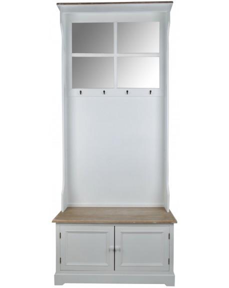 Garderoba drewniana Blanc