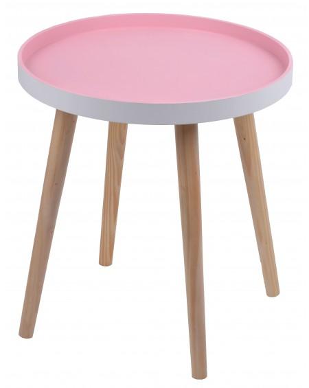 Stolik różowy duży