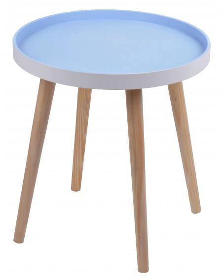 Stolik niebieski duży