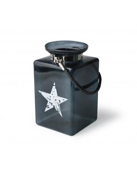Lampion szklany z gwiazdą