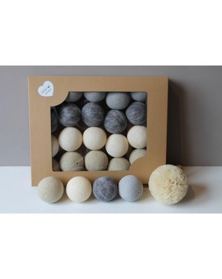 Cotton Balls Piaskove 35 szt.