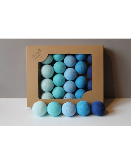 Cotton Balls Blue 35 szt.