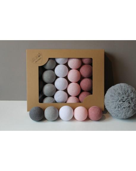 Cotton Balls Dusty Pink 35 szt.