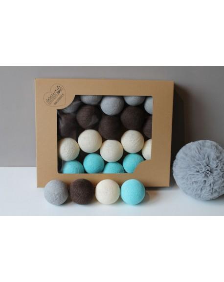 Cotton Balls Lazurove 35 szt.