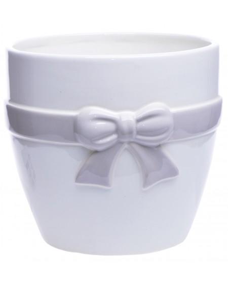 Osłonka ceramiczna z kokardką