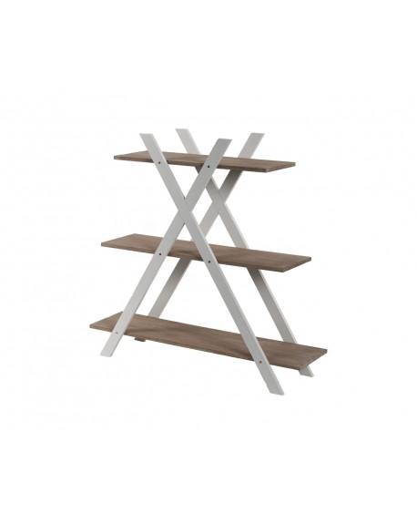 Regał drewniany X3