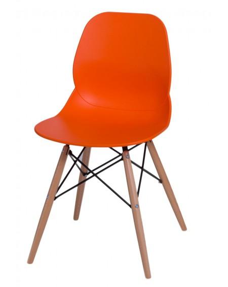 Krzesło Couche pomarańczowe