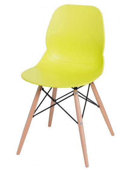 Krzesło Couche limonkowe
