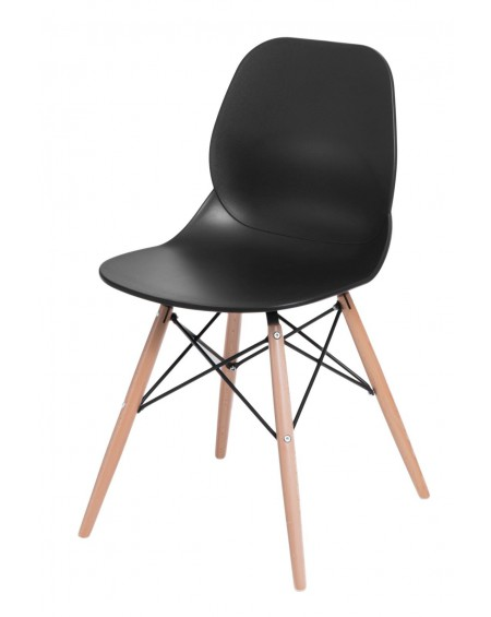 Krzesło Couche czarne