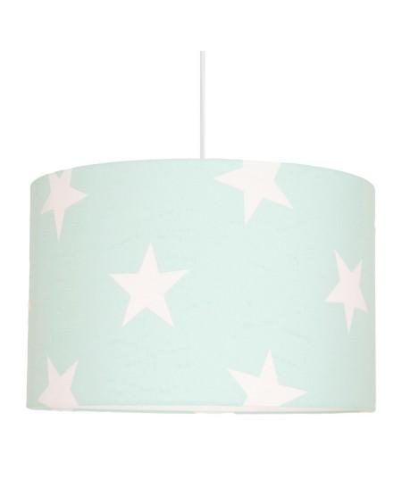 Lampa wisząca gwiazdy na miętowym