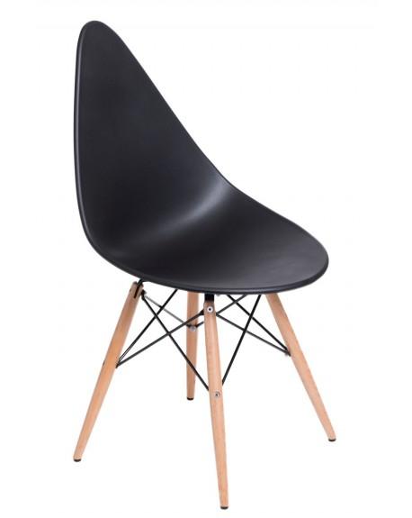 Krzesło Ruer czarne