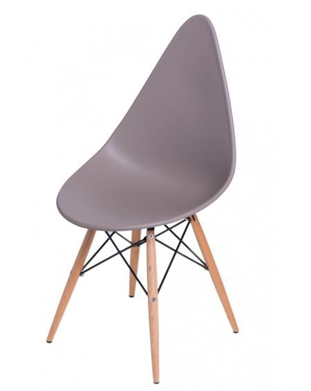 Krzesło Ruer beżowe