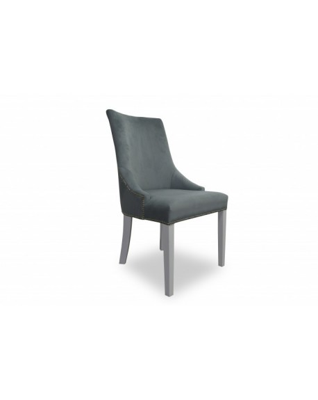 Krzesło Madame z kołatką i tasiemką pinezkową