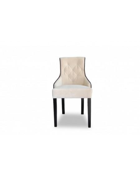 Krzesło Lana z przeszyciami
