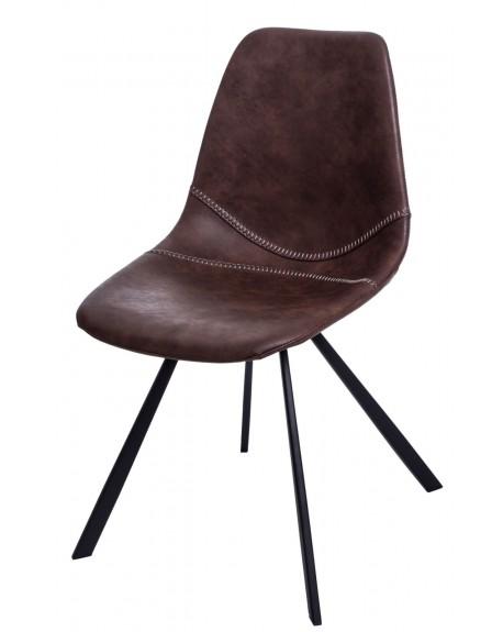 Krzesło Vincent M jasnobrązowe